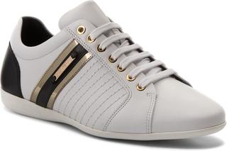 Sneakers VERSACE COLLECTION - V900421 VM00318 V821H Bianco/Nero/Oro