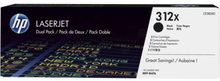 HP Tonerkassett (312X) svart (2-pack) 2x4.400 sidor CF380XD Replace: N/AHP Tonerkassett (312X) svart (2-pack) 2x4.400 sidor