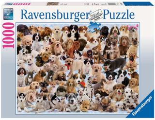 Ravensburger Kollage med hundar 1000 bitar