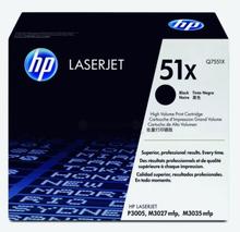HP Tonerkassett svart 13.000 sidor Q7551X Replace: N/AHP Tonerkassett svart 13.000 sidor