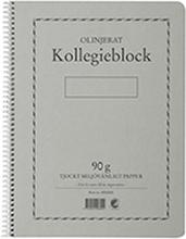 Kollegieblock A4 90g 70 blad olinj TF 5 pack