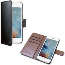Celly Wally Wallet Case iPhone 7 Plus Svart/Brun WALLY801 Replace: N/ACelly Wally Wallet Case iPhone 7 Plus Svart/Brun