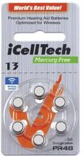 iCellTech iCellTech PR48/ZA13/DA13/V13 Hörapparatsbatteri 8809052731687 Replace: N/AiCellTech iCellTech PR48/ZA13/DA13/V13 Hörapparatsbatteri