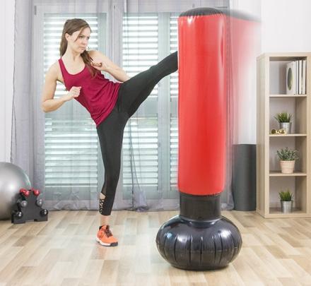 Sport Fitness oppblåsbarpunching tårn