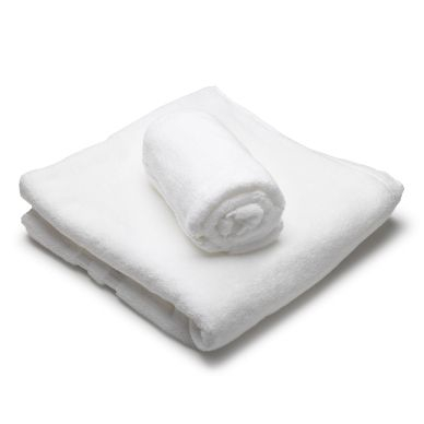 inkClub Sæt med to luksus håndklæder, 1 stk.140x70, 1 stk. 50x70 cm
