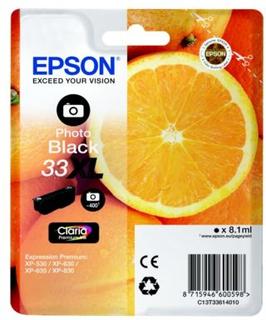 Epson Epson T33 series Epson 33XL Blekkpatron fotosvart, 400 sider