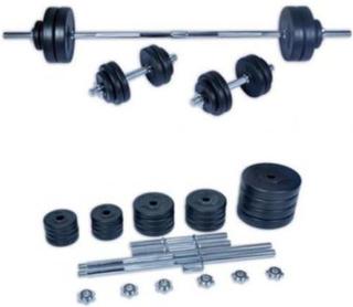 FitTronic håndvægtsæt, 50 kg