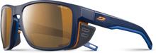 Julbo Shield Cameleon Sunglasses blue/blue/orange-brown 2019 Sportglasögon