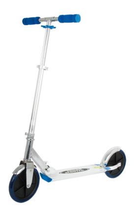 Jumbo sparkesykkel - med ekstra store hjul