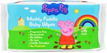 Peppa Pig Muddy Puddle Baby Wipes 56 stk