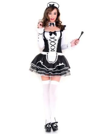 Søtt French Maid kostyme
