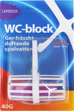 "WC-Block ""Lavender"" 40g - 50% rabatt"