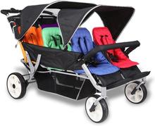Babytrold trille Buss - Sportsvogn med hele 6 sitteplasser