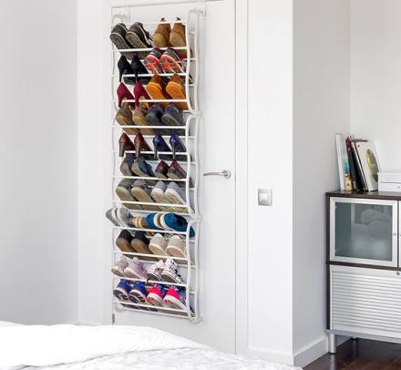 Shoes & Door sko stativ 36 par - henges over døren
