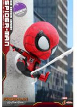 Hot Toys Cosbaby Marvel Spider-Man: Far From Home - Spider-Man (Web Swinging Version) Figure