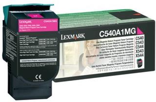 LEXMARK Tonerkassette magenta 1.000 sider return