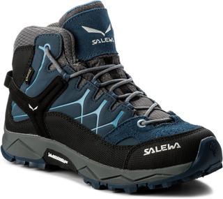 Trekking-skor SALEWA - Alp Trainer Mid Gtx GORE-TEX 64006-0365 Dark Denim/Charcoal