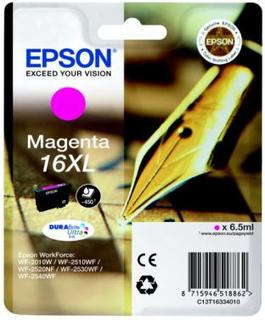 EPSON Blekkpatron magenta (Epson 16XL) 450 sider