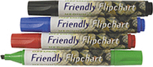 Flipchart marker FRIENDLY rund 4/pk