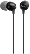 SONY Sony Høretelefoner in-ear MDR-EX15LP Sort