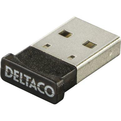 DELTACO Bluetooth 4.0 adapter, USB 2.0, CSR 4.0, 3 Mb/s, sor