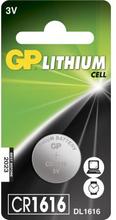 GP BATTERIES GP CR 1616-C1 GP-CR1616 Replace: N/AGP BATTERIES GP CR 1616-C1
