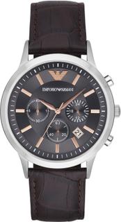 Klocka EMPORIO ARMANI - Renato AR2513 Dark Brown/Silver/Steel