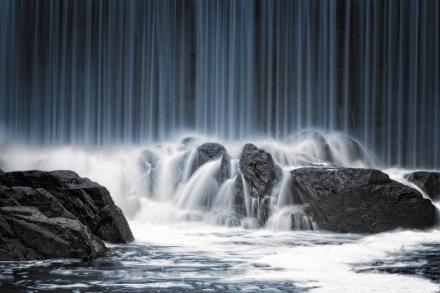 Water Curtain Tapetit / tapetti 100 x 100 cm