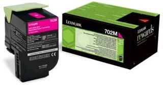 Lexmark Lexmark 702M Tonerkassett magenta, 1.000 sider