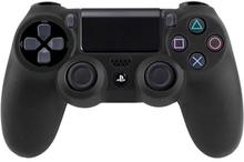 Silikone Beskyttelse til PS4 (Sort)