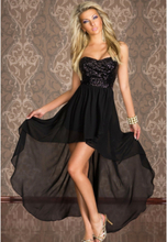 Boulevard lang kjole - Sort