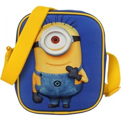 skulder taske Minions 1,5 liter blå / gul - wupti.com