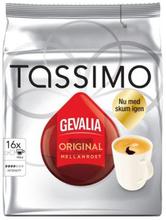 Tassimo Gevalia Tassimo Mellanrost kaffekapslar, 16 port 7622210001566 Replace: N/ATassimo Gevalia Tassimo Mellanrost kaffekapslar, 16 port