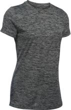 Under Armour Women's UA Tech™ Twist T-Shirt Dame Kortermede treningstrøyer Grå XS