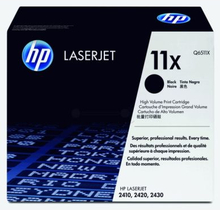 HP Tonerkassett svart 12.000 sidor Q6511X Replace: N/AHP Tonerkassett svart 12.000 sidor