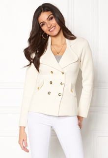 Chiara Forthi Chiara Heavy Knit Blazer Antique white L (EU42)