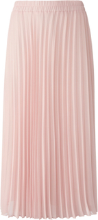 Plisserad kjol resårlinning från Peter Hahn rosa