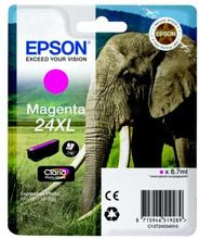 EPSON Bläckpatron magenta, 740 sidor, hög kapacitet T2433 Replace: N/AEPSON Bläckpatron magenta, 740 sidor, hög kapacitet