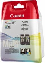 CANON PG-510 / CL-511, 2 stk pakning