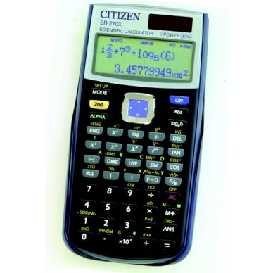 CITIZEN Tieteislaskin Citizen SR-270X