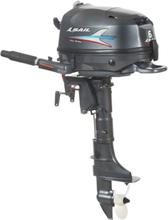 Sail Motors Båtmotor 6 HK Inkl. extern bränsletank Lång rigg