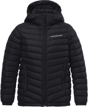 Peak Performance J Frost Down Hood Jacket Untuvatakit BLACK