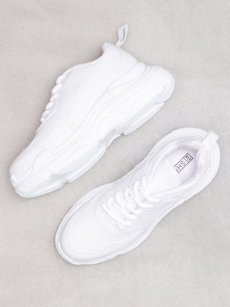 Low Top - Hvit NLY Shoes Perfect Chunky Sneaker
