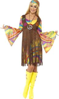 1960 Hippie frynse kostyme