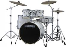 Yamaha Stage Custom Birch Standard Drumset - Pure White