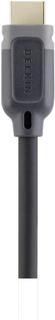 Belkin HDMI Tilslutningskabel [1x HDMI-stik - 1x HDMI-stik] 4 m Sort