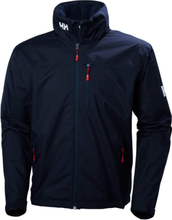 Crew Hooded Jacket Navy S
