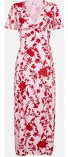 Willow omlottklänning - Röd