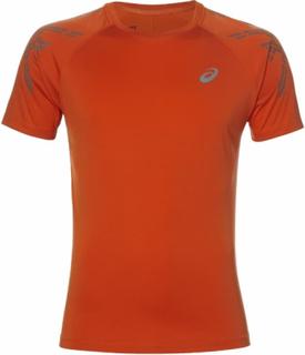 ASICS - ASICS Stripe men's running top (orange) - S