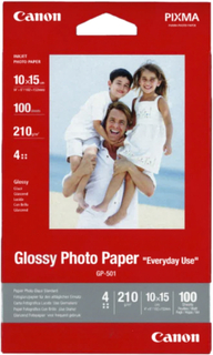 Canon Fotopapir Glossy 10x15 100ark 200g